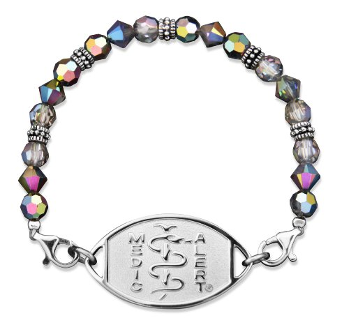 swarovski-iridescent-crystals-medical-id-bracelet-percocet-allergy