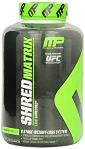 Muscle Pharm Shred Matrix, 120 Capsules