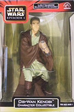 "Star Wars Episode 1 Obi-Wan Kenobi Jedi Knight 9"" Character Collectible"
