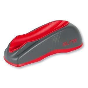 Elite Elastogel Travel Block Front Wheel Riser - Black/Red