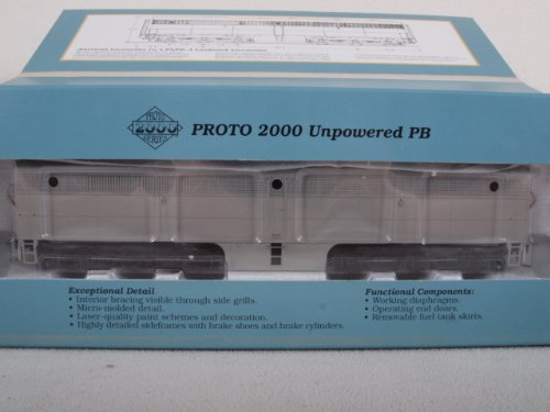 Proto 2000 23200 HO E6B Dummy Diesel Locomotive Undecorated