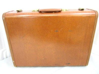 Vintage Vtg Samsonite Streamlite Suitcase In Excellent Condition W Lock