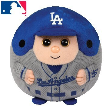 Ty Beanie Ballz MLB Los Angeles Dodgers Large Plush