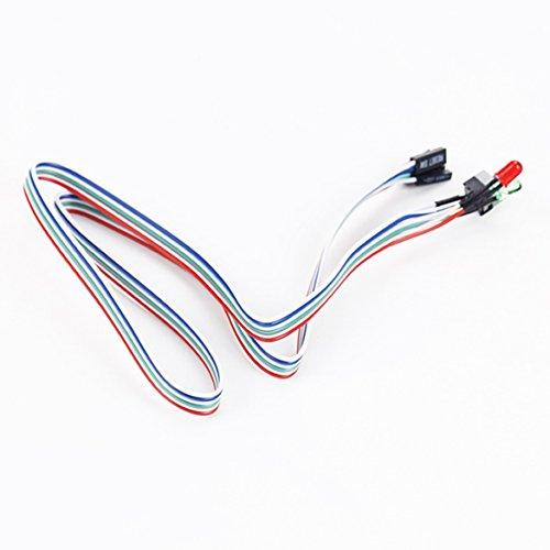 atx-60cm-pc-de-bureau-sur-linterrupteur-de-rearmement-cable-avec-hdd-led