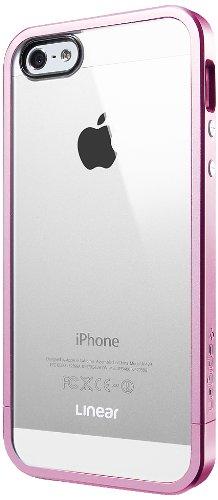 国内正規品SPIGEN SGP iPhone5/5S ケース リニア クリスタルシリーズ [メタル・ピンク] SGP10045
