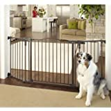 NORTH STATES DELUXE DECOR WIDE BABY/PET GATE