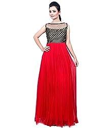 KB Fashion Red Chex Choli