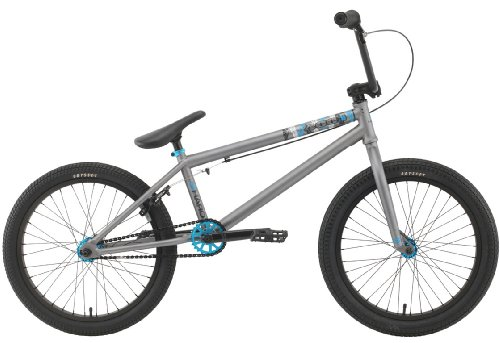 Haro 400.1 20.5In BMX Bike Matte Double Platinum 20