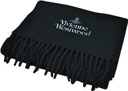 (ヴィヴィアン ウエストウッド)Vivienne Westwood マフラー オーブ&ロゴ F912-AW12M colo32 ブラック mens