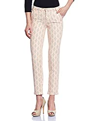 Madame Women's Slim Pants (M1527011_Peach_26)