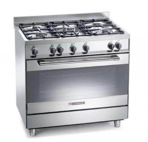 Cucina a Gas Prezzo: Cucina a gas Tecnogas Heavy Duty PT999XS 90x60 ...