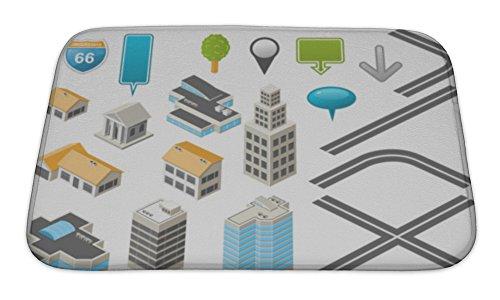 gear-new-bath-rug-mat-no-slip-microfiber-memory-foam-isometric-map-toolkit-24x17