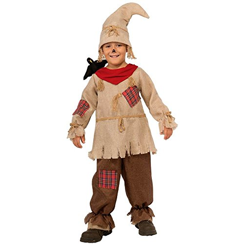 Patchwork Scarecrow Kids Costume