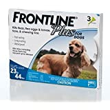 Frontline Flea Drops For Dogs & Puppies 23-44 Lbs.