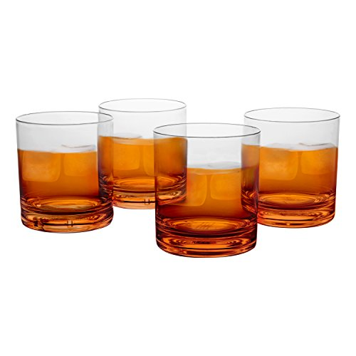 unbreakable whiskey glasses u2013 set of 4 premium whisky scotch glasses100 tritan u2013 reusable dishwasher safe by du0027eco - Whiskey Glass Set