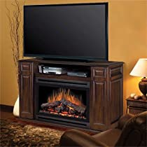 "Big Sale Best Cheap Deals Atwood 55"" TV Stand with Electric Fireplace"