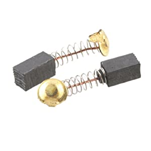 """10x 1/4"""" x 3/10"""" x 1/2"""" Power Tools Motor Parts Carbon Brushes 999021"""