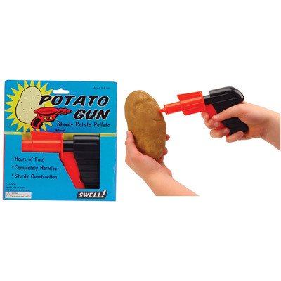 Toysmith 01702 Potato Gun Toy