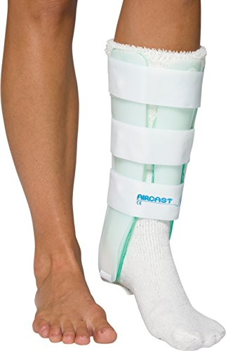 Aircast-Leg-Support-Brace-with-and-without-Anterior-Panel