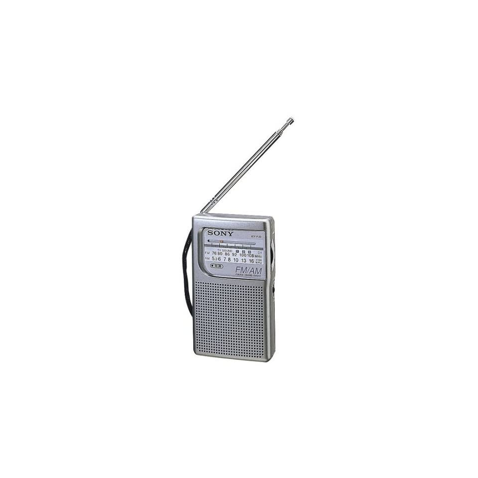 SONY ICF P20 FM/AM RADIO Electronics