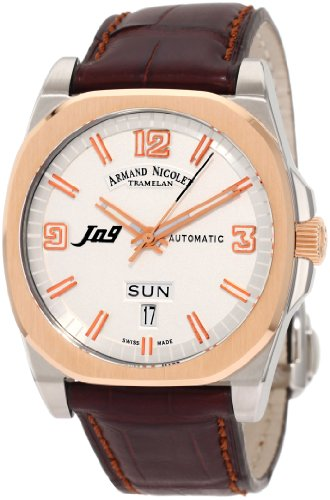 Armand Nicolet Men's 8650A-AS-P965MR2 J09 Classic Automatic Two-Toned Watch
