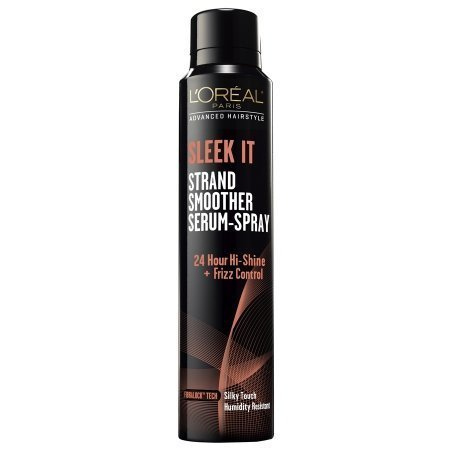 (2 Pack) L'Oreal Paris Advanced Hairstyle Sleek It Strand Smoother Serum-Spray, 5.3 Fl Oz (Loreal Advanced compare prices)