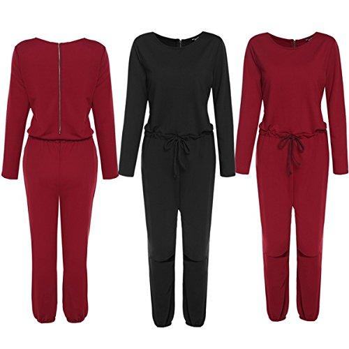 Zeagoo-Femmes-Rompers-Manche-Longue-Partie-de-Soire-Combinaisons-Femme-chic-Jumpsuit-Pantalons