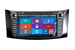 See Crusade Car DVD Player for Nissan Sylphy 2012- Support 3g,1080p,iphone 6s/5s,external Mic,usb/sd/gps/fm/am Radio 8 Inch Hd Touch Screen Stereo Navigation System+ Reverse Car Rear Camara + Free Map Details