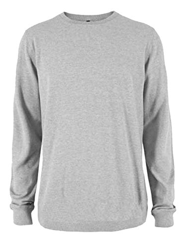Ladies Plain Classic Sweatshirts Sizes 6 to 30 - CASUAL SPORTS LEISURE WORK (10 to 12 - S / SMALL, HEATHER GREY)