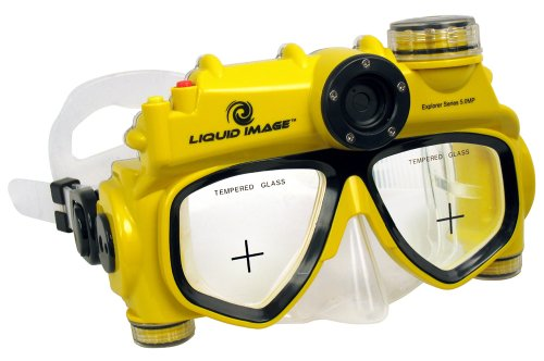 Liquid Image 302 5.0MP Underwater Digital Camera Mask