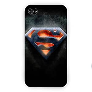 EYP Superheroes Superman Back Cover Case for Apple iPhone 4