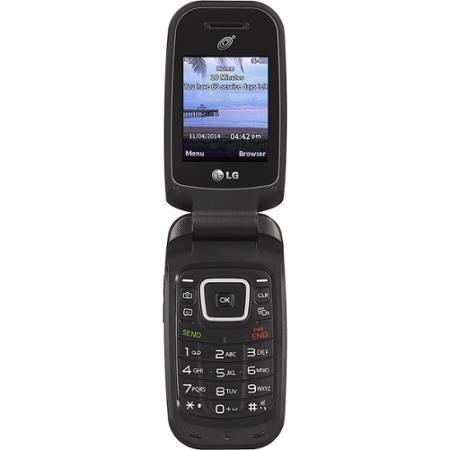 TracFone LG 441G Prepaid Cell Phone with 3G network speed