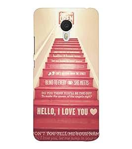 EPICCASE Love Steps Mobile Back Case Cover For Meizu M3 Note (Designer Case)
