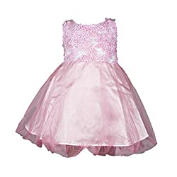 Softouch Baby Girls' Frock (Pink_12-18 Months)