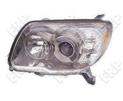 2013 Hino 238 Post mount spotlight 6 inch -Black 100W Halogen Driver side WITH install kit