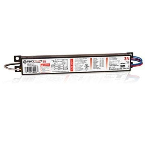 Ge Lighting 74456 Ge332Mv-N 120/277-Volt Multi-Volt Proline Electronic Fluorescent T8 Instant Start Ballast 3 Or 2 F32T8 Lamps