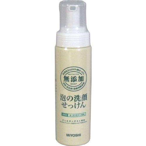 洗浄成分は100%純せっけん!!合成界面活性剤はもちろん、香料、防腐剤、着色料などは一切加えていません!ポンプ 200mL