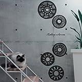 Modern Classic African Style Wall Sticker Decor Decal Vinyl Art Craft