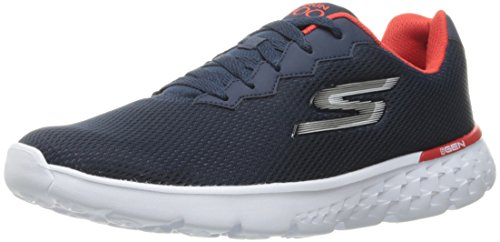 Skechers Performance Men's Go Run 400 Running Shoe, Navy/Red, 12 M US