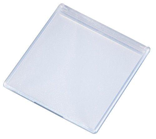 ヤマムラ 蛍光ラメコンパクトミラー ホワイト