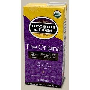 Oregon Chai Tea Concentrate The Original Flavor, 1 Quart - Pack Of 3