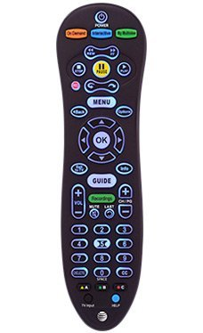 AT&T U-VERSE S30 UNIVERSAL REMOTE CONTROL BLUE BACK LIGHT CY-RC1057-AT (Att Universal Remote compare prices)