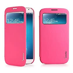 Poetic FlipBook Case for Samsung Galaxy S IV S4 GS4 4 Magenta (3 Year Manufacturer Warranty From Poetic)