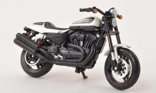 Harley Davidson XR1200X, white , 2011, Model Car, Ready-made, Maisto 1:18 - 1