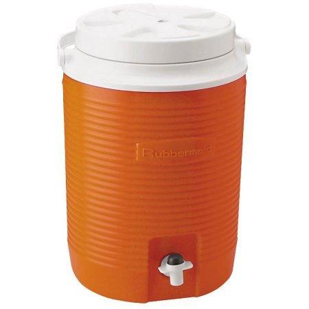 Rubbermaid FG15300411 2 Gallon Orange Victory Thermal Jug Water Coolers (Water Jug Orange compare prices)