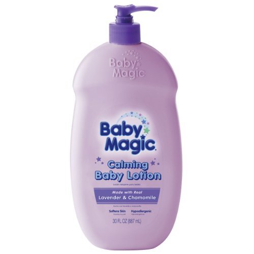 Baby Magic Calming Baby Lotion, Lavender and Chamomile, 30 Fluid Ounce