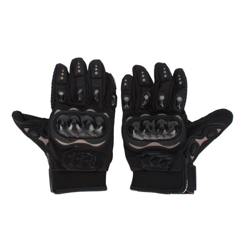 Bicycle/Motorcycle Riding Protective Gloves Black