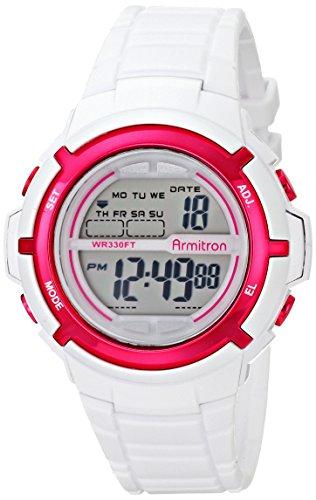 armitron-45-7045wht-da-donna-sport-orologio-digitale-con-tessuto-cinturino-in-resina