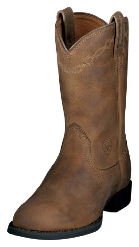 Ariat 0797 Women's Heritage Roper, Distressed Brown 9.5 B