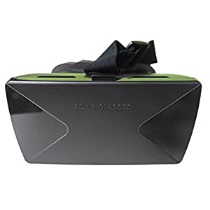 SimpleVR Virtual Reality Headset Goggles for 4.5 - 6.5-inch Phones with Plastic Trigger Magnet